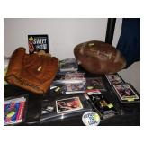Dining Room: Baseball Mitts,  Ken Griffey, Jr. Cards, Football cards, Basketball cards, Sweet 116