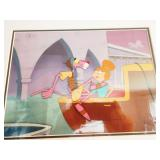 Living Room: Pink Panther/Jetsons Movie Cell