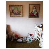 2nd Bedroom Left:  Office Stuff, Art Books