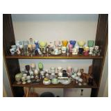 Kitchen Area:  Large collection of Egg cups