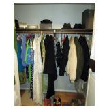 Hall Closet:  Coats (Ladies & Men
