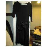Hall Closet:  Vintage Dress Black