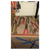 Garage: Tools, Wrenches. Pliers, Wire Cutters