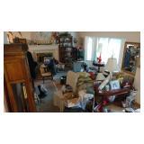 Living Room:  1st Day