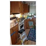 Kitchen:  1st Day