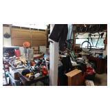 Downstairs Garage Left: 1st Day