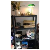 Upstairs Bedroom 1st Left:  Towels, Desk Lamp,