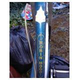 Outside Shed:  Robin Hood Bicycle