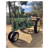 1937 John Deere Tractor Model B