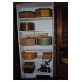 hat boxes and cheese boxes