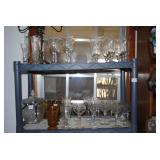 crystal glasses and more