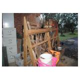 Assorted yard and hand tools