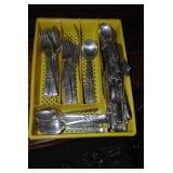 Silver plate silver ware