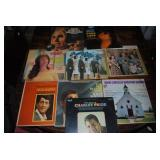 Large selection of albums/records  Billy Crash Craddock seemed to be favorite :)