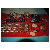 great selection of costume jewelry