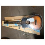 Vintage Silvertone guitar and original box