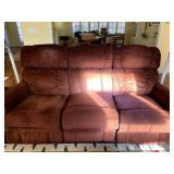 Sofa with end recliners