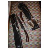 Lucite handle cutlery set