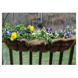 Planters for over rail - 3