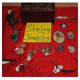 Sterling silver jewelry vintage and newer