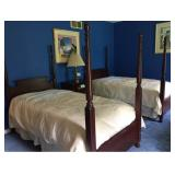 Vtg Twin Beds