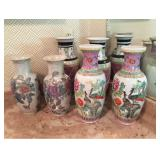 Asian Style Vases