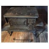 Atq Cast Iron Fireplace Stove