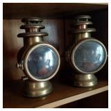 Atq Dietz Gas Lamps 1900s
