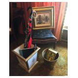 Atq Walnut Chair, Art