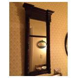 Atq Wood Framed Mirror
