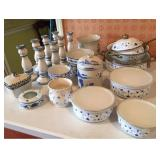 Blue and White Kitchen Items