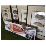 Fish Prints and Tray