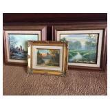 Framed Oil Paintings 3