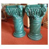 Green Pillar Stands 2