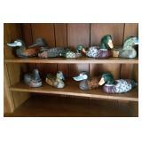 Handpainted Ducks 9
