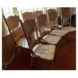 Oak Kitchen Chairs 8