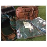 Polo Travel Set and Leather Satchel