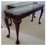 Pr Cherry Sofa Tables 2