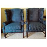 Pr Hunter Wingback Chairs