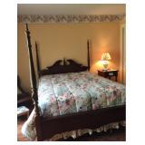 Queen 4-Poster Bed
