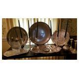 Silver Plate Candelabra, Platters #3