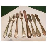 Sterling Knives Forks 8