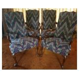 Upholstered Arm Chairs 4