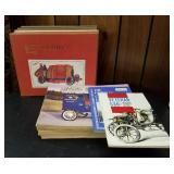 Vtg Atq Car Books