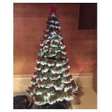 Vtg Ceramic Christmas Tree