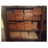 Vtg Cigar Boxes