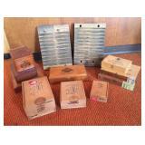 Vtg Cigar Press and Boxes