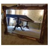 Vtg Ornate Mirror