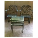 Wrought Chairs and Tables