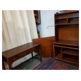 Cherry Bookcase, Corner Unit & Desk